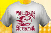 Softball Team T-Shirt SBL-1008