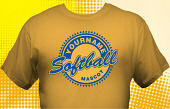 Softball Team T-Shirt SBL-1012
