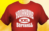Softball Team T-Shirt SBL-1015