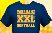 Softball Team T-Shirt SBL-1016