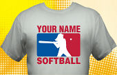 Softball Team T-Shirt SBL-3001