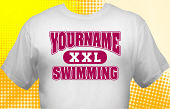 Swim & Swimming Team T-Shirt SWM-1011