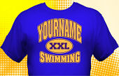 Swim & Swimming Team T-Shirt SWM-1014