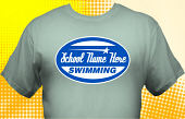 Swim & Swimming Team T-Shirt SWM-2003