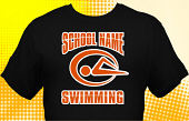 Swim & Swimming Team T-Shirt SWM-2004
