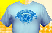 Swim & Swimming Team T-Shirt SWM-3001