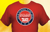 Texas TAKS T-Shirt TKS-2007