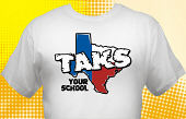 Texas TAKS T-Shirt TKS-3002