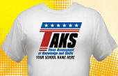 Texas TAKS T-Shirt TKS-3007