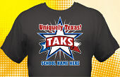 Texas TAKS T-Shirt TKS-4004