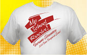 Texas Recognized School T-Shirt TXR-1001