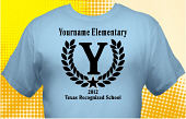 Texas Recognized School T-Shirt TXR-1004