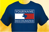Texas Recognized School T-Shirt TXR-2001