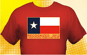 Texas Recognized School T-Shirt TXR-3002