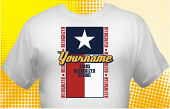 Texas Recognized School T-Shirt TXR-3003
