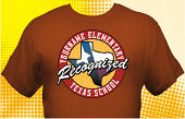 Texas Recognized School T-Shirt TXR-4002