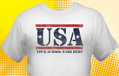 Patriotic T-Shirt USA-2001
