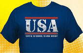 Patriotic T-Shirt USA-2002