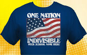 Patriotic T-Shirt USA-2004