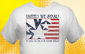 Patriotic T-Shirt USA-2005