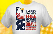 Patriotic T-Shirt USA-3001