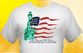 Patriotic T-Shirt USA-3002