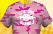 Volleyball Team T-Shirt VLB-1004