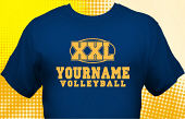 Volleyball Team T-Shirt VLB-1007
