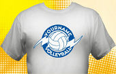 Volleyball Team T-Shirt VLB-1008