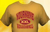 Volleyball Team T-Shirt VLB-1009