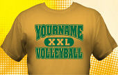 Volleyball Team T-Shirt VLB-1010
