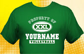 Volleyball Team T-Shirt VLB-1011