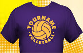 Volleyball Team T-Shirt VLB-1012