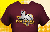 Volleyball Team T-Shirt VLB-3001