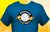 Volleyball Team T-Shirt VLB-3002