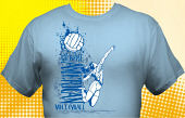 Volleyball Team T-Shirt VLB-3003