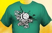 Volleyball Team T-Shirt VLB-3004