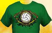 Volleyball Team T-Shirt VLB-3005