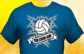 Volleyball Team T-Shirt VLB-3006