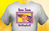 Volleyball Team T-Shirt VLB-4001