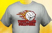 Volleyball Team T-Shirt VLB-4002