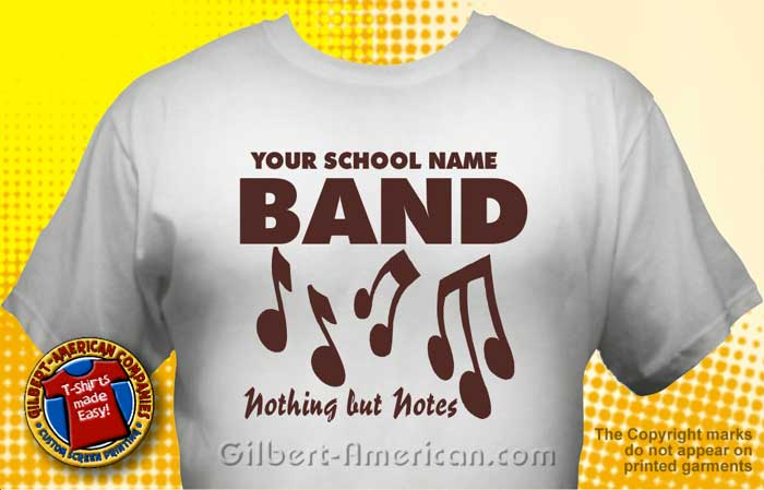 school band t shirt bnd 1002 school band shirt design
