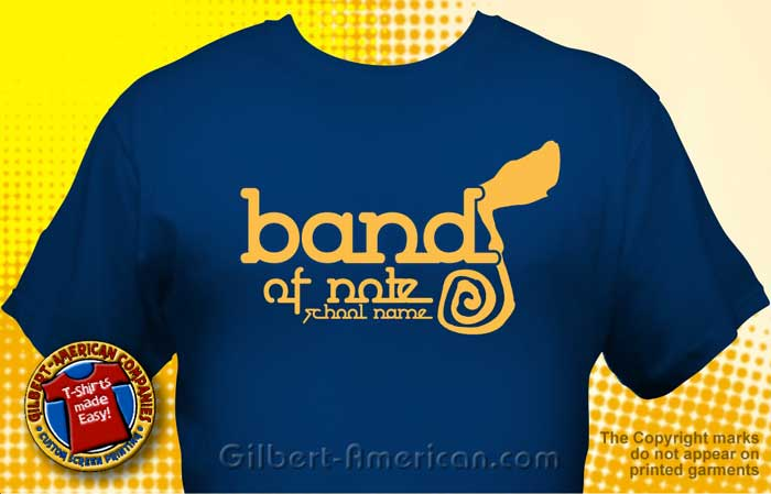 School Band T Shirt BND 1003 School Band Shirt Design