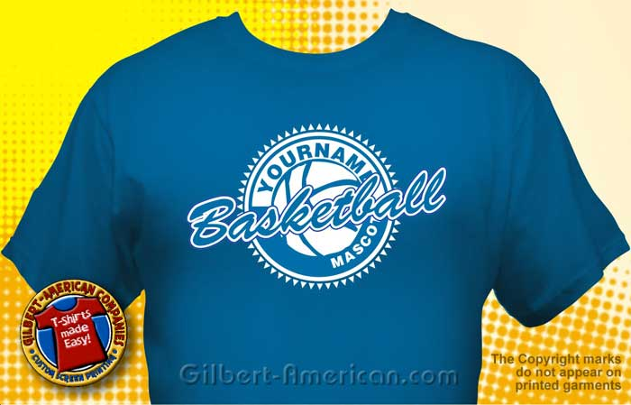 basketball team t shirt bsk 1002