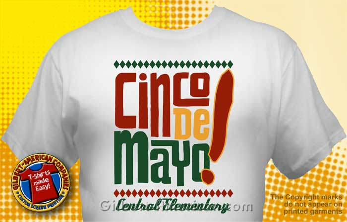 Cinco De Mayo T Shirt CDM 3001