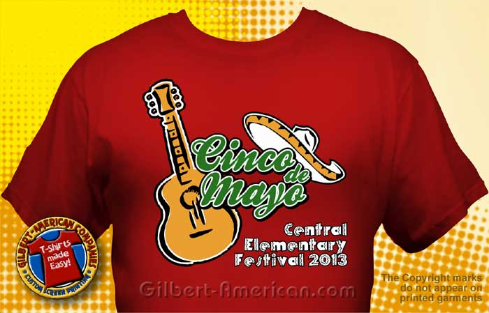 Cinco De Mayo T Shirt CDM 4001