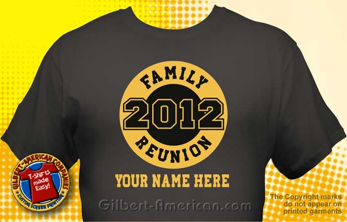 family reunion t shirt fam 1007 - Family Reunion T Shirt Design Ideas