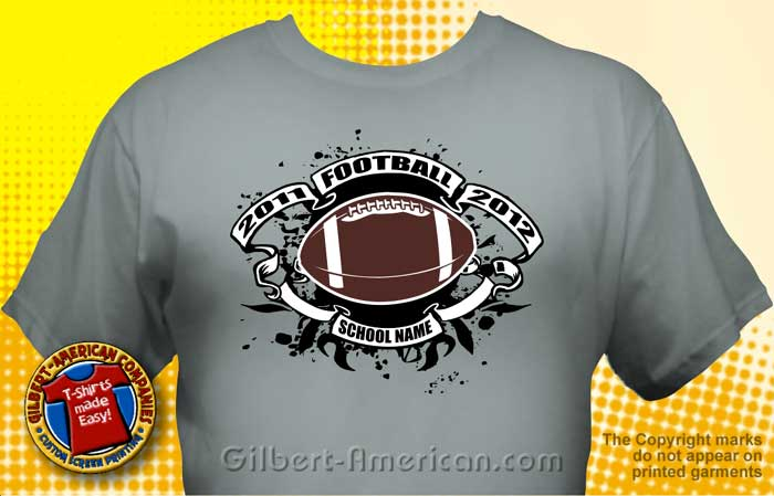 gallery for football t shirt designs ideas