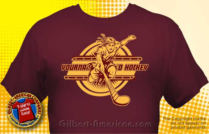 field hockey team t shirt fhy 1003 - Team T Shirt Design Ideas