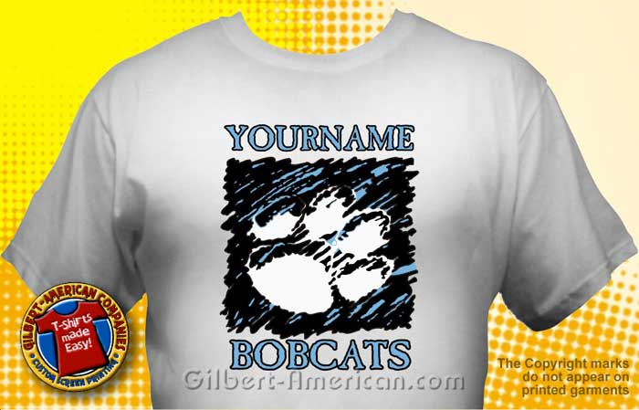 school bobcats t shirt mbo 2002 - School Spirit T Shirt Design Ideas